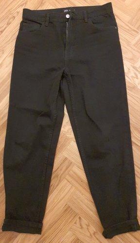 Zara Wortel jeans zwart