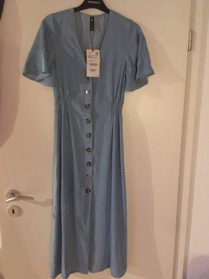 Zara Midi-jurk azuur