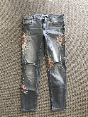ZARA Jeans mit Druck