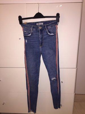 Zara Hoge taille jeans veelkleurig