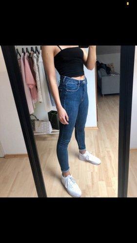 Zara Jeans Neu High Waist Skinny