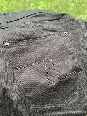 Zara Woman Jeansy z prostymi nogawkami czarny