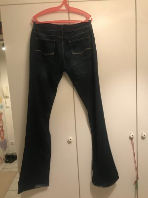 Zara Woman Denim Flares dark blue