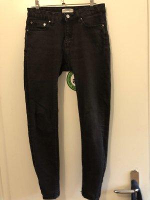 Zara Jeans Premium Collection schwarz Gr. 36