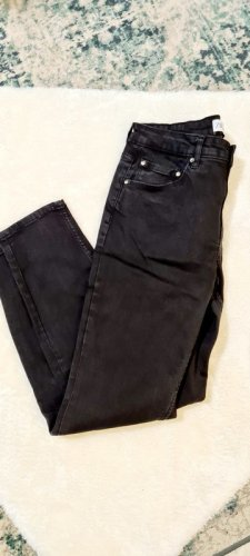Zara Carrot Jeans black cotton