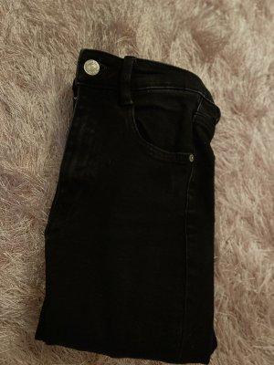 Zara Jeans schwarz Skinny
