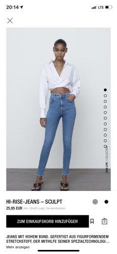Zara Jeans sculpt