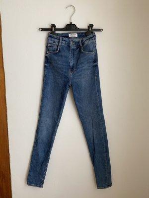 Zara Jeans a sigaretta multicolore