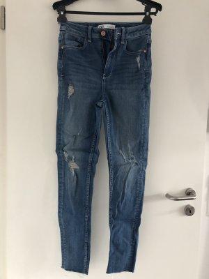 Zara Jeans skinny high waist