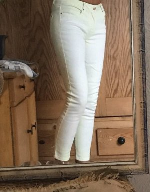 Zara Jeans Skinny Trafaluc zartes Gelb