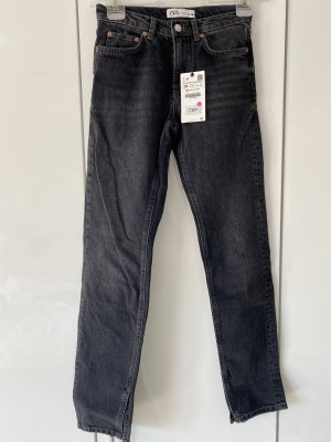 ZARA Jeans Split Leg