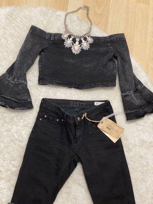 Zara jeans & Top mit kette
