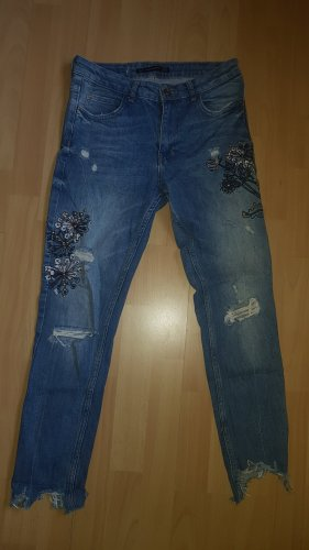 zara jeans used look