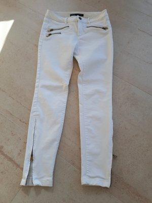 Zara Basic 7/8-jeans wit