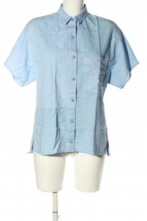 Zara Blouse en jean bleu style décontracté