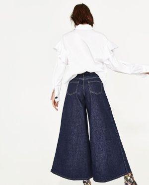 Zara Jeansculotte Limited Edition super wide leg Gr.38 neu