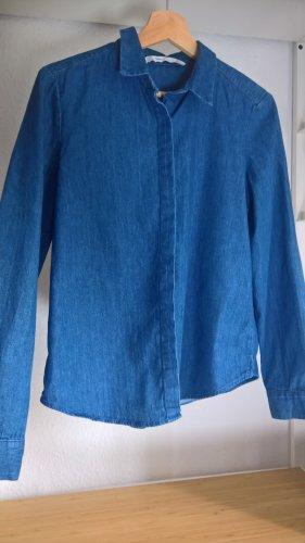 Zara Camicia denim blu