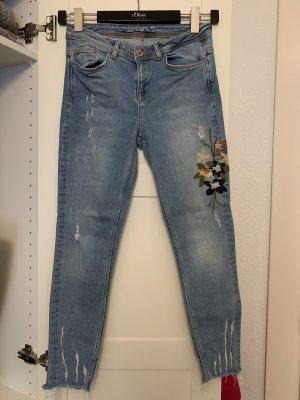Zara Skinny jeans azuur