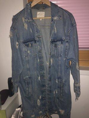 Zara Denim Jacket pale blue