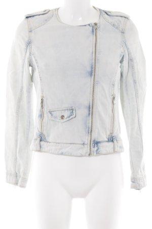 Zara Jeansjacke Farbverlauf Washed-Optik