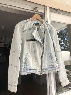 ZARA Jeansjacke Used Look/Premium Wash