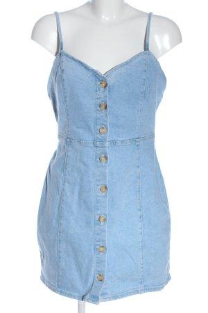 Zara Jeanskleid blau Casual-Look