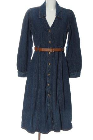 Zara Robe en jean bleu style décontracté