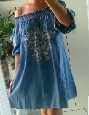ZARA Jeanskleid Größe L