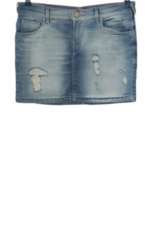 Zara Jeansrock blau Casual-Look