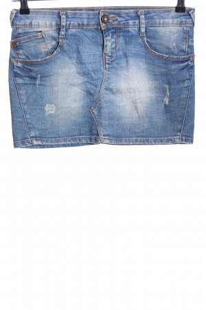 Zara Denim Skirt blue casual look