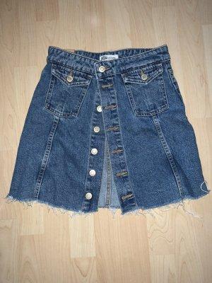 Zara Gonna di jeans blu