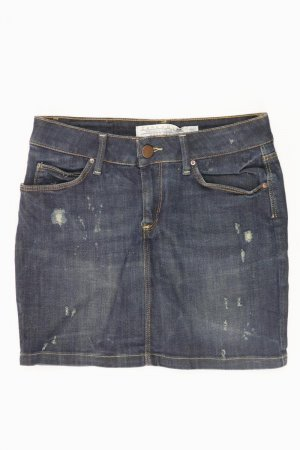 Zara Jeansrock Größe 36 blau aus Baumwolle
