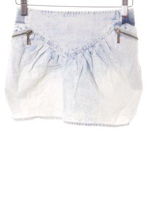Zara Jeansrock himmelblau Jeans-Optik