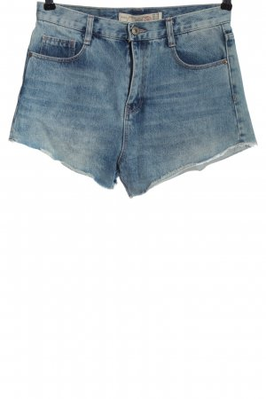 Zara Denim Shorts blue casual look