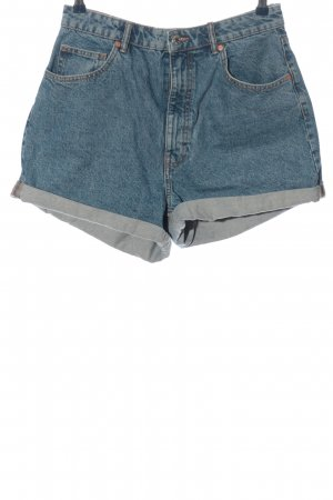 Zara Short en jean bleu style décontracté