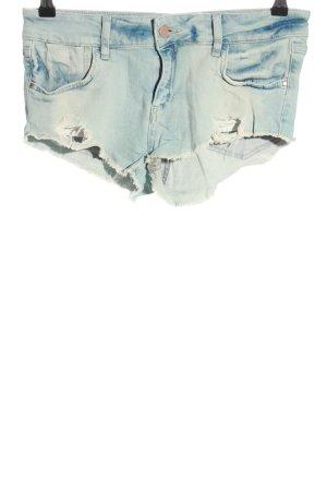 Zara Jeansshorts blau schlichter Stil