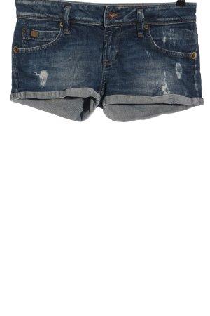Zara Jeansshorts blau Elegant