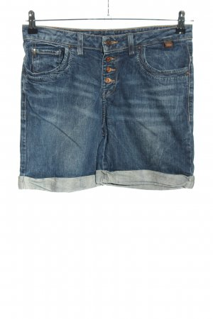 Zara Pantaloncino di jeans blu stile casual