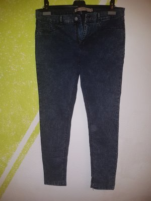 Zara Trafaluc Jeggings blu scuro