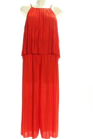 Zara Jersey Twin Set rot Casual-Look