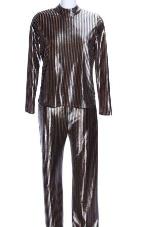 Zara Jersey Twin Set Allover-Druck Casual-Look
