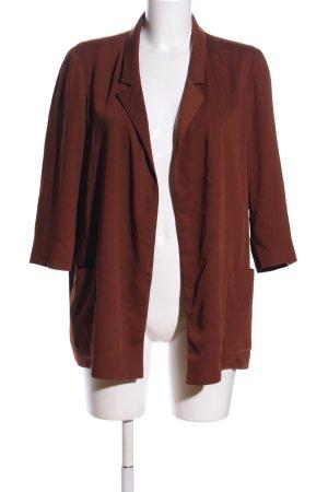 Zara Jerseyblazer braun Casual-Look