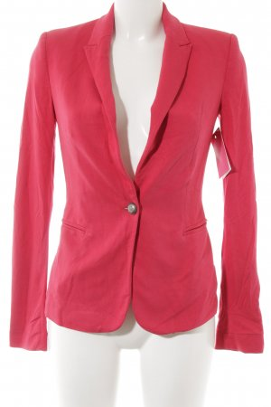 Zara Jerseyblazer magenta Business-Look