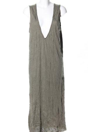 Zara Jerseykleid khaki Casual-Look