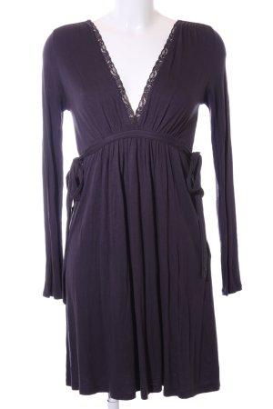 Zara Jerseykleid lila Casual-Look