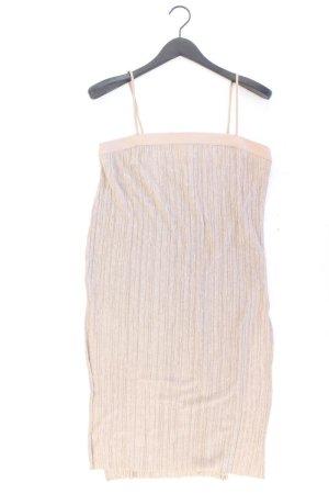 Zara Jerseykleid Größe M Träger braun aus Polyester