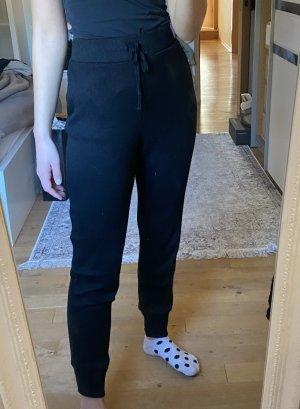 Zara Pantalón deportivo negro