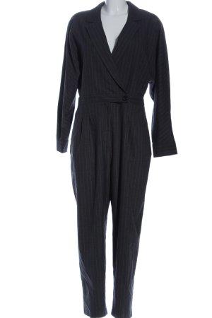 Zara Jumpsuit schwarz Streifenmuster Casual-Look