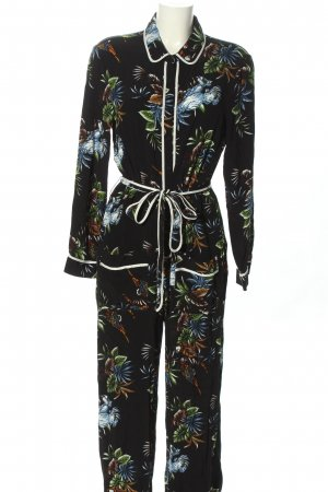 Zara Jumpsuit Motivdruck Casual-Look
