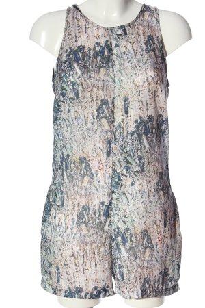Zara Jumpsuit Allover-Druck Casual-Look